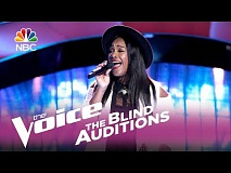 "The Voice 2017 Blind Audition - Keisha Renee: ""I Can't Stop Loving You"""