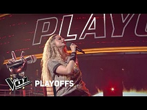 Playoffs #TeamAxel: Silvina Zanollo canta