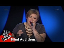 Μαριαλένα Καπέκη - Bella ciao | 1o Blind Audition | The Voice of Greece