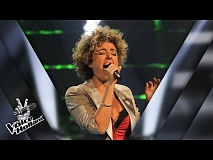 Berenice van Leer – Teardrops | The voice of Holland | The Blind Auditions | Seizoen 8