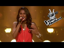 Alisha Ramcharan - Burn (The Blind Auditions | The voice of Holland 2015)