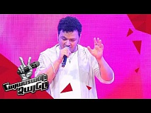 Artyom Akopov sings 'Танцы на стеклах' - Blind Auditions - The Voice of Armenia - Season 4