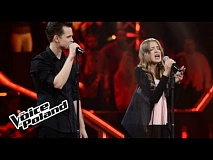 "Maja Kapłon vs Jacek Wolny - ""Beneath Your Beautiful"" - The Voice of Poland 8"