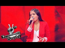 Eva Abrahamyan sings 'Hello' - Blind Auditions - The Voice of Armenia - Season 4