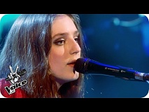 Birdy performs 'Wild Horses': The Live Semi-Finals - The Voice UK 2016