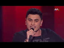 Islam Dadashov - Russian Roulette | Blind Audition | The Voice of Azerbaijan 2015