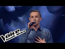 Chris Werge sings Royals  | The Blind Auditions | The Voice South Africa 2016