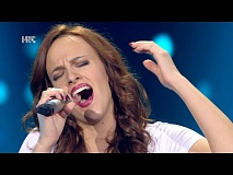 "Stefany Žužić: ""Caruso"" - The Voice of Croatia - Season2 - Blind Auditions2"