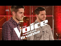 Ivan i Marjan uoči dvoboja - The Voice of Croatia - Season2 - Battle2