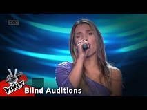 Μαρίνα Κυριαζοπούλου - Love on the brain | 7o Blind Audition | The Voice of Greece