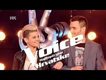 Sanja i Ivo uoči dvoboja - The Voice of Croatia - Season2 - Battle2