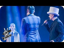 Team George perform 'Victims': The Live Semi-Finals - The Voice UK 2016