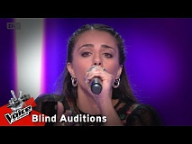 Άντρια Αγγελή - Halo | 8o Blind Audition | The Voice of Greece