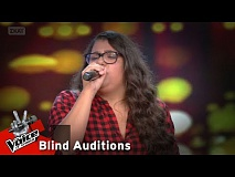 Κατερίνα Ζούμη - Ain't no sunshine | 12o Blind Audition | The Voice of Greece