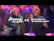 Chris Alain vs. Roemillo Baumgard – If I Ain't Got You | The voice of Holland | The Battle