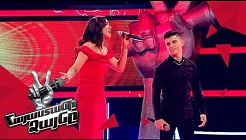 Ivonne vs Karen sing 'Lagrimas Negras/Ով սիրուն սիրուն' – Battle – The Voice of Armenia – Season 4