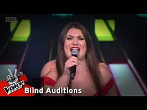 Νεφέλη Ακριβοπούλου - You are the one that i want | 9o Blind Audition | The Voice of Greece