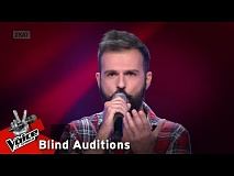 The Voice of Greece | Πάνος Παταγιάννης | 4o Blind Audition