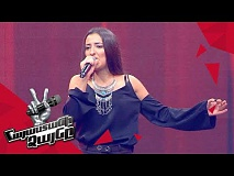 Arevik Armenakyan sings 'Կյանք ու կռիվ' - Blind Auditions - The Voice of Armenia - Season 4