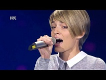 "Matea Dujmović: ""Feeling Good"" - The Voice of Croatia - Season2 - Blind Auditions2"