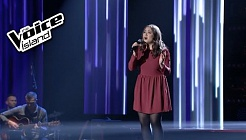 Laufey Lín - I Still Haven't Found What I'm Looking For | The Voice Iceland 2015 | LIVE