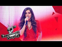 Lusine Arutyunova sings 'Something's Got a Hold on Me' - Blind Auditions - The Voice of Armenia 4
