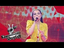 Anahit Hakobyan sings 'Wrecking Ball' - Blind Auditions - The Voice of Armenia - Season 4