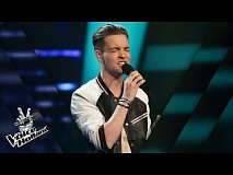 Ronald Klungel – Scars To Your Beautiful | The voice of Holland | The Blind Auditions | Seizoen 8