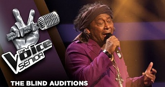 Jimi Bellmartin – It's A Man's Man's Man's World | The Voice Senior 2018 | The Blind Auditions