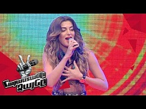 Iveta Mukuchyan sings 'Running' - Blind Auditions - The Voice of Armenia - Season 4
