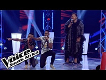 Blaque Harmony and Thembeka sing 'With or Without You'  | The Battles | The Voice SA