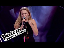 Tulla Eckhart sings 'Ghost' | The Blind Auditions | The Voice South Africa 2016